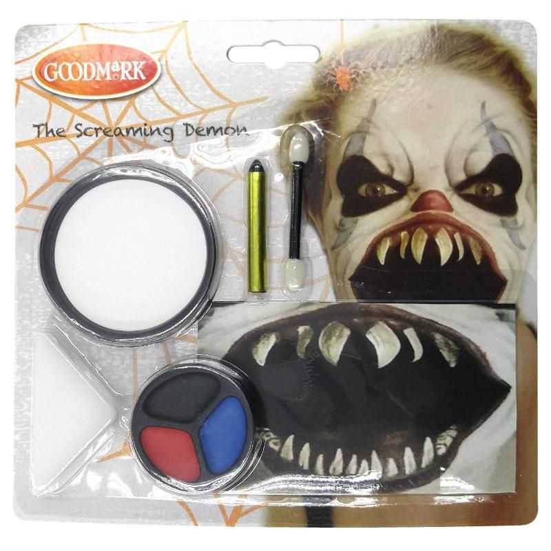 Kit De Maquillage D Mon Sans Paraben Maquillage Halloween Enfant