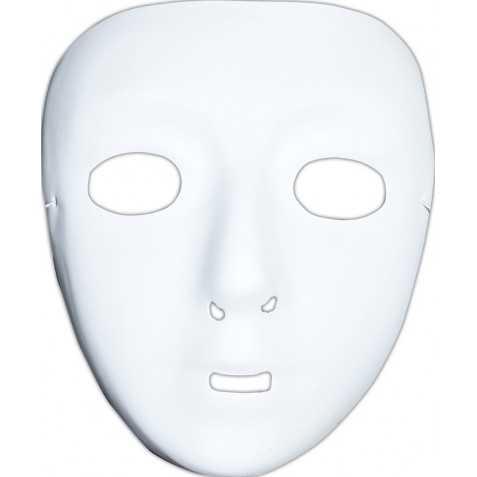 Masque blanc decorer 1er prix for Decorer un masque blanc