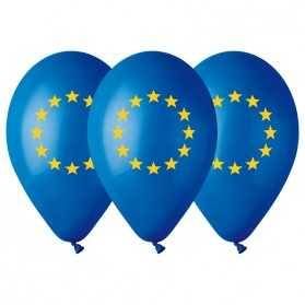 10 Ballons Drapeau de l'Europe