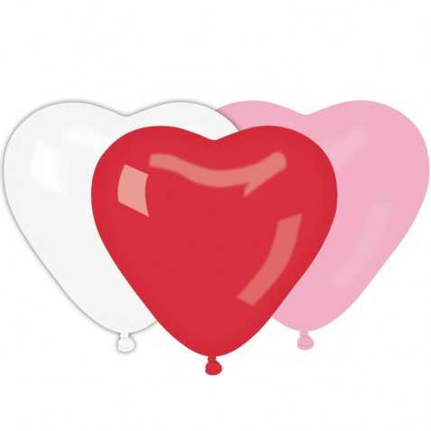 Sachet de ballons petits coeurs