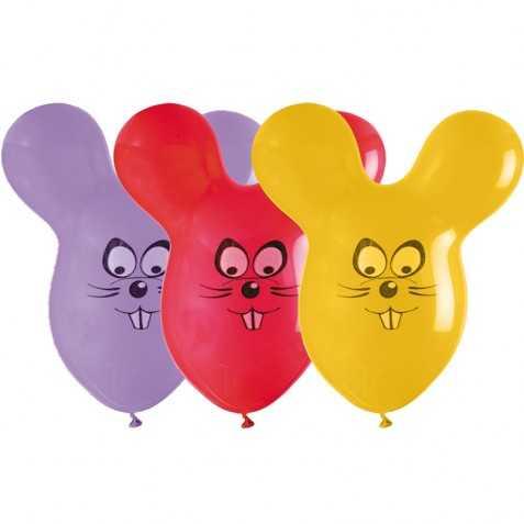 ballons gonflables en forme de souris