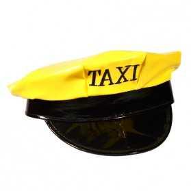 Casquette Jaune de Taxi New-Yorkais