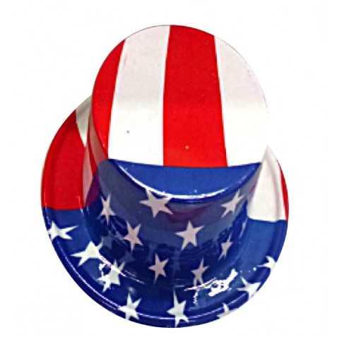 Haut de Forme de l'Oncle Sam aux couleurs USA