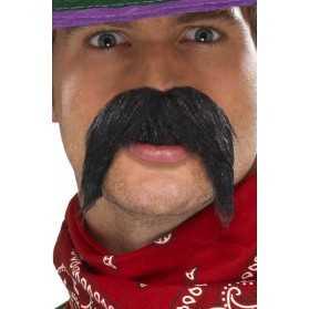 Moustache épaisse de Gringo mexicain
