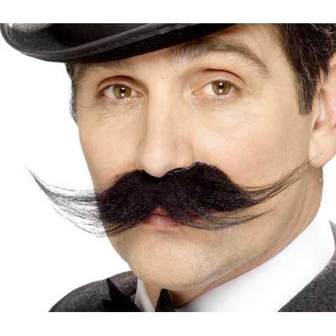 moustache pour se déguiser en détective