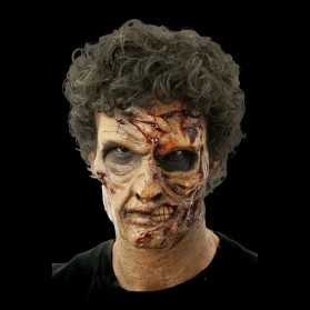 Prothèse visage de Zombie