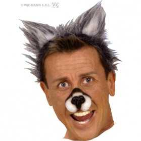 Serre Tête Adulte avec des oreilles de Loup