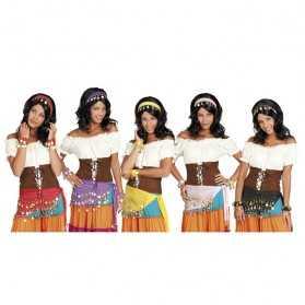 Kit accessoires pour se déguiser en Danseuse orientale