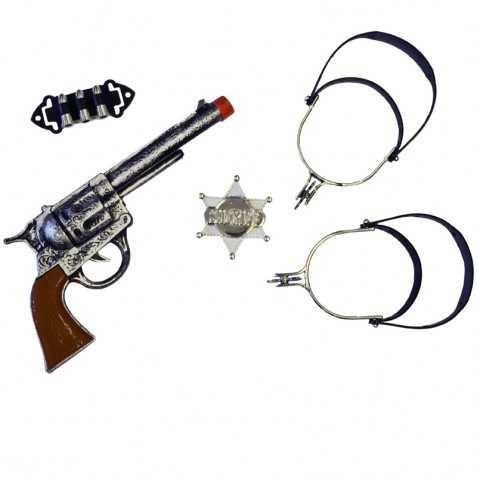 Kit accessoires pour se déguiser en Shériff