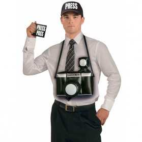Kit accessoires Adulte pour se déguiser en Paparazzi
