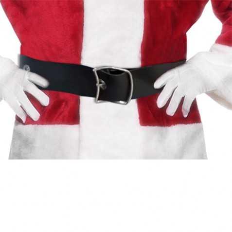 Ceinture de Père Noel avec grande boucle