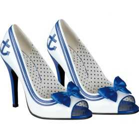 Chaussures de la Marine Femme Taille 39-40
