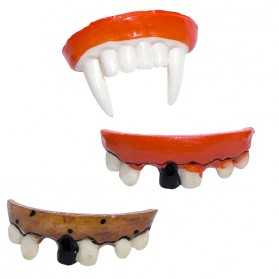 Faux Dentier avec vieux chicot