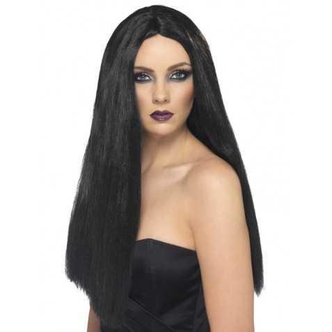 Perruque de Méchante Sorcière aux cheveux longs