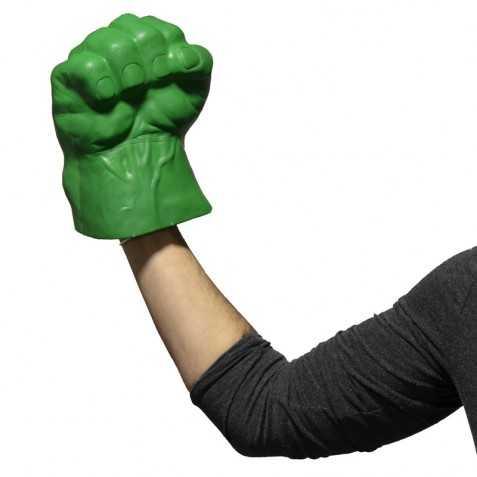 Main Géante Verte style Poigne de Hulk