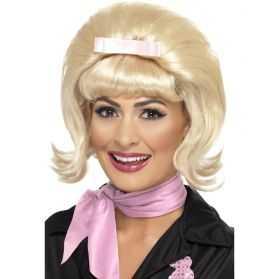 Perruque blonde années 50