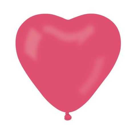 Ballons Rouges en forme de Coeur
