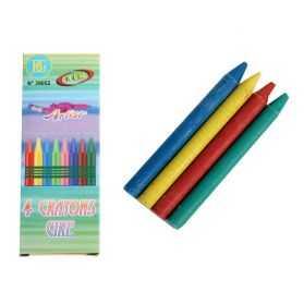 Boite de 4 crayons cire