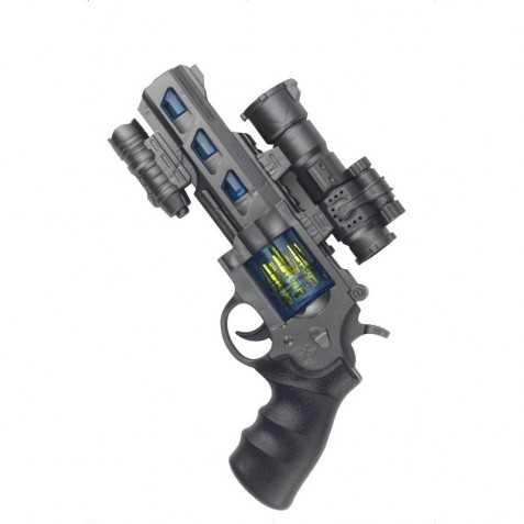 Pistolet de policier de l'Espace
