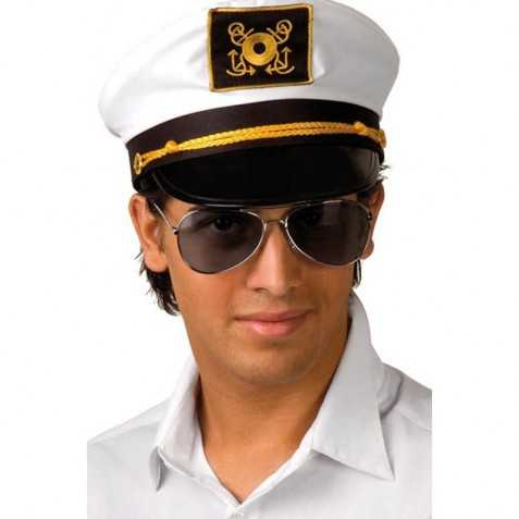 Lunettes pour se déguiser en commandant de bord