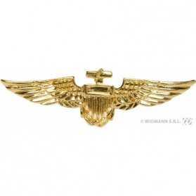 Broche dorée de Commandant de l'Air