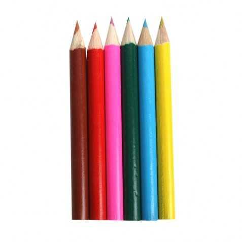 Boite de 6 crayons de couleur