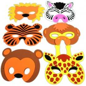 1 Masque Animal Enfant