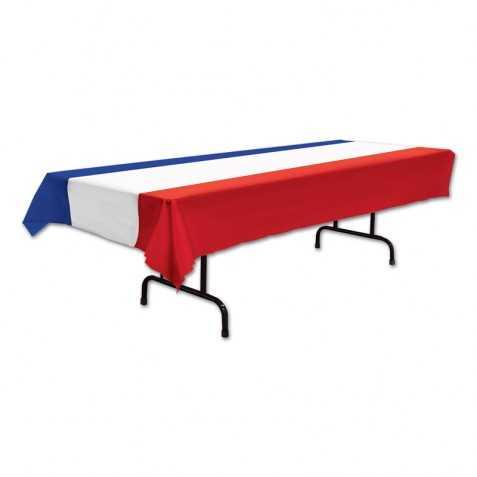 Nappe de Table bleu blanc rouge