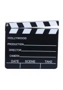 Célèbre Clap de Cinéma Noir et Blanc avec clapet