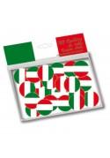 Confettis de table aux couleurs du drapeau de l'Italie