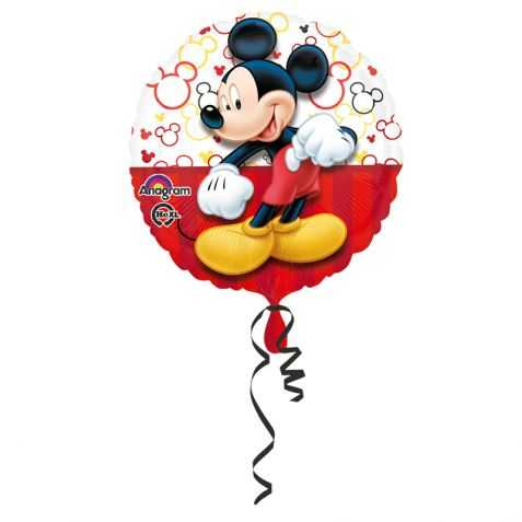 ballon gonflable mickey pour d co d 39 anniversaire disney. Black Bedroom Furniture Sets. Home Design Ideas