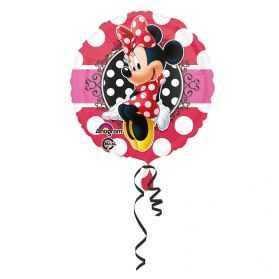 Ballon gonflable Minnie pour déco d'anniversaire Disney