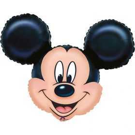Ballon gonflable Tête de Mickey pour déco gouter d'anniversaire enfant