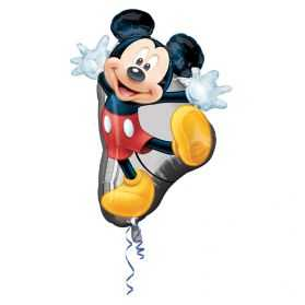 Ballon gonflable Mickey pour déco gouter d'anniversaire Disney