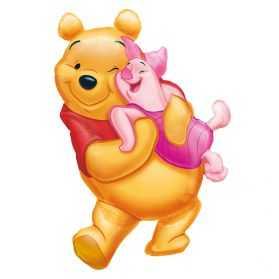 Ballon gonflable Winnie l'Ourson pour anniversaire des tous petits