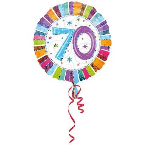 ballon géant anniversaire 70 ans