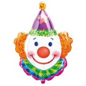 Ballon gonflable en forme de Tête de Clown