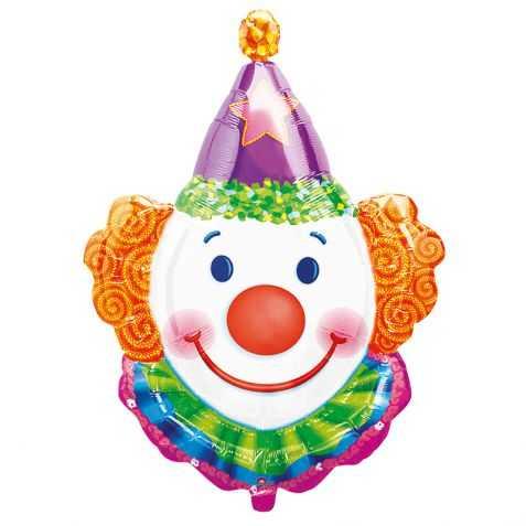 Ballon gonflable en forme de Tête de Clown