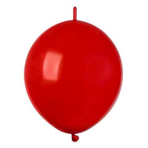 Guirlande de ballons rouges