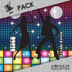 pack décoration géante soirée disco pas cher