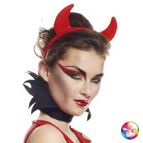 Serre tête de Diablesse rouge