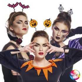 1 Serre tête à motif halloween