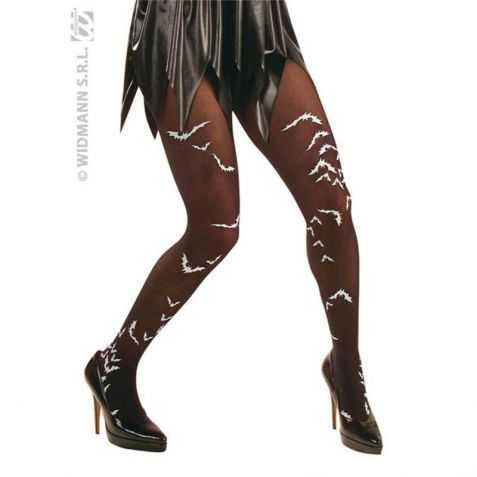 Collants fantaisie avec motifs Chauve Souris taille XL