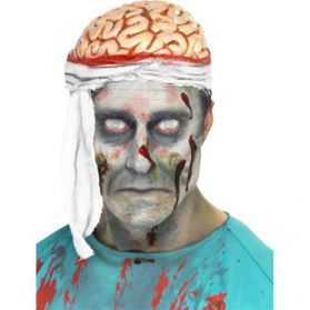 Chapeau avec Cervelle apparente et bandage