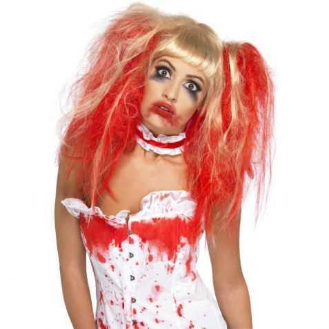Perruque blonde de Zombie possédée