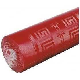 nappe rouge en papier pas cher