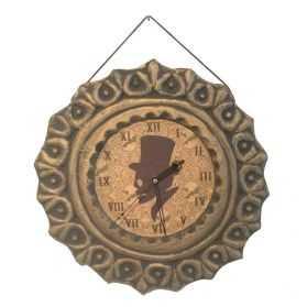 Fausse Horloge avec motif Squelette
