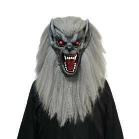 Masque de Loup Garou aux longs poils