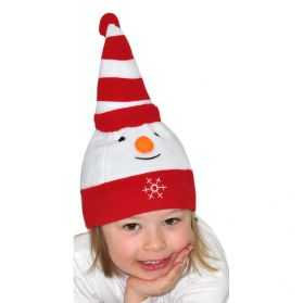 Bonnet de bébé Bonhomme de neige