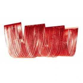 Décoration de Plafond effet vague Rouge